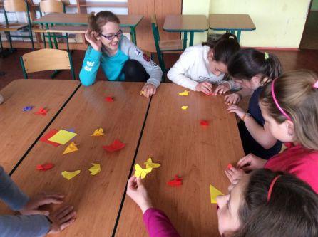 Výroba origami záložek