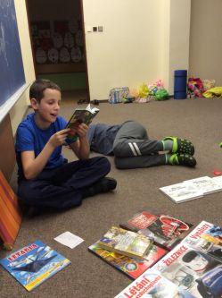 Čteme ze svých knih