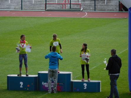 ...nejlepší běžkyně na 300m...