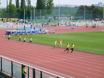 ...pro některé závodnice první velká běžecká zkušenost ...