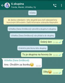 Náš Whatsapp